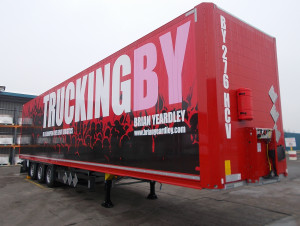 TRUCKINGBY Brian Yeardley Take Delivery Of 30th Event Trailer In Two Years Of Trading.