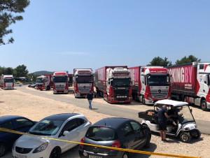 TRUCKINGBY Take 12 Trucks To Split, Croatia On A Corporate Event