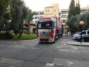 TRUCKINGBY Supply Corporate Event Trucking To A Venue In Paphos Cyprus
