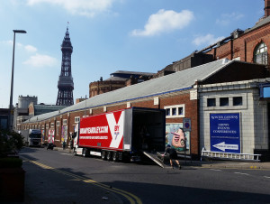 TRUCKINGBY Are A Knockout In Blackpool On Nxt Uk's Rollover Wrestling Event