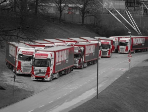 TRUCKINGBY Supply Fourteen Trucks For Florence & The Machine On Her 'high As Hope' European Tour 2019