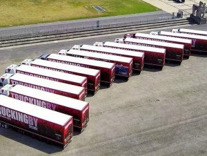 TRUCKINGBY Provide 18 Tour Trucks For The Phil Collins 2019 'still Not Dead Yet - Live Tour'