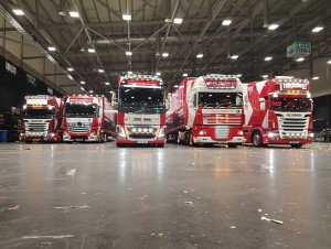 TRUCKINGBY Support Peter Kay's 2017 Dance For Life Tour