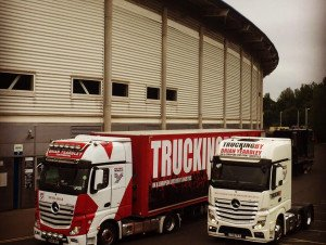 TRUCKINGBY Supply Specialist Trucks On Rod Stewarts 2016 Uk Tour