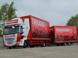 TRUCKINGBY Supply The Perfect Trucking Solution For Brydon, Mac & Mitchells 'town To Town' Tour