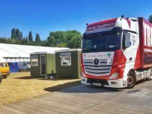 TRUCKINGBY Work On Cambridge Folk Festival For The First Time