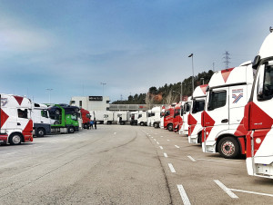 TRUCKINGBY Are Main Logistics Supplier To The 2018 Mobile World Congress