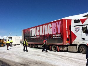 TRUCKINGBY Start The Festival Season On Top Of A Mountain In The French Alps