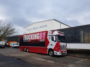 TRUCKINGBY Support The Foals On Their Studio Promo Gigs