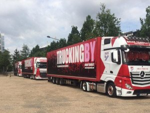 TRUCKINGBY Move The Sounds Around The Uk & Eire For The Stevie Wonder 'song Party' 2019