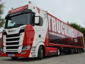 Brian Yeardley Continental Invest In Another Scania 730 Low Ride Tractor