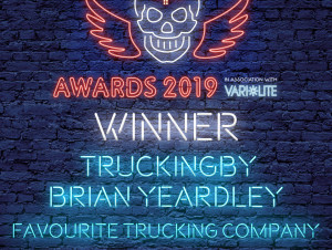 TRUCKINGBY Win Tpi Award For 'favourite Trucking Company 2019'